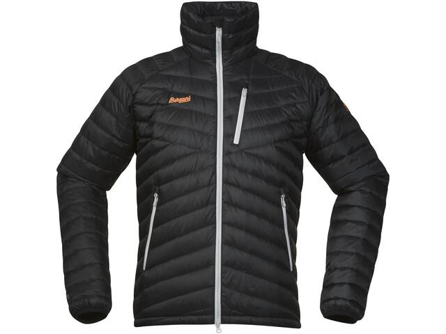 Bergans Slingsbytind Down Jacket Herr black/aluminium/pumpkin